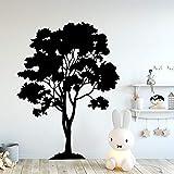 mlpnko Etiqueta de la Pared del Vinilo del árbol Lindo decoración de la Sala decoración de la habitación de los niños Etiqueta de la Etiqueta del Arte de la Pared 54x72cm