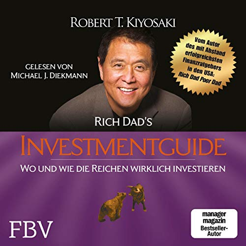 Rich Dad's Investmentguide audiobook cover art