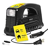 Kensun Model J Tire Inflator AC/DC for Car 12V DC and Home 110V AC Portable Air Compressor Pump for...