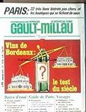 NOUVEAU GUIDE GAULT MILLAU (LE) [No 93] du 01/01/1977 - PARIS - 22 TRES BONS BISTROTS PAS CHERS - VINS DE BORDEAUX - CHOUCROUTES - PHILIPPINES - AVORIAZ - LES ANTILLES - LA MODE COLONIALE.