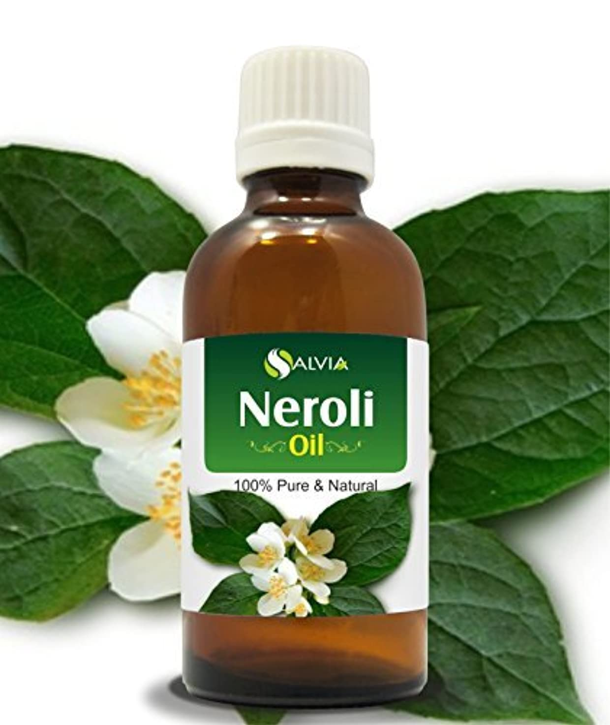 まあ移行する入植者NEROLI OIL 100% NATURAL PURE UNDILUTED UNCUT ESSENTIAL OILS 30ML by Salvia