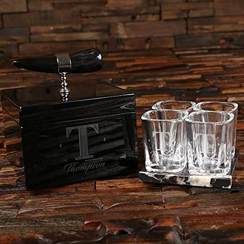 The Groomsmen's Trading sold out Desk Max 69% OFF Set - Box With Ox-Horn Lacquer and