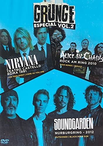 GROUNGE ESPECIAL VOL. 02 - NIRVANA/ ALICE IN CHAINS/ SOUNDGARDEN