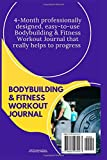 Zoom IMG-1 bodybuilding and fitness workout journal