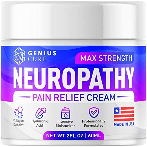 Neuropathy Nerve Pain Relief Cream Maximum Strength Relief Cream for Foot Hands Legs Toes Includes product image