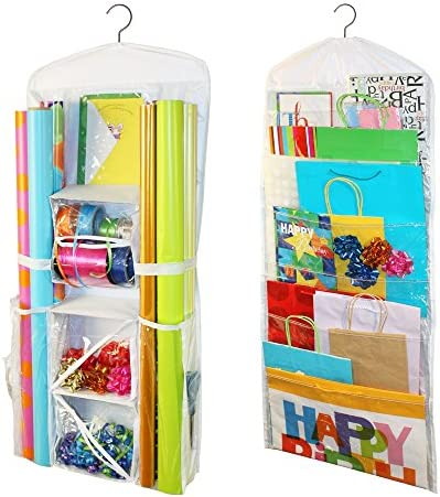 Jokari Gift Wrap and Bag Organizer Storage for Wrapping Paper All Sized Rolls Gift Bags Organize product image