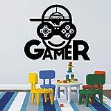 BailongXiao Juego Infantil calcomanía de Pared Videojuego Jugador de Dibujos...