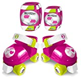 STAMP ROSES SET PATINS + COUDIERES GENOUILLERES SKIDS CONTROL TAILLE 23-27, JS670035