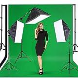 Andoer Photo Studio Kit d'éclairage (Softbox, l 'ampoule, Prise de...