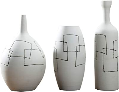 Amazon.com: Chino Jing Dezhen - Jarrón de cerámica vintage ...