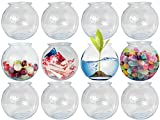 Kicko Plastic Ivy Bowls - 12 Pack - 16 Ounce Tub - Perfect for Home Decor, Centerpiece, Ca...