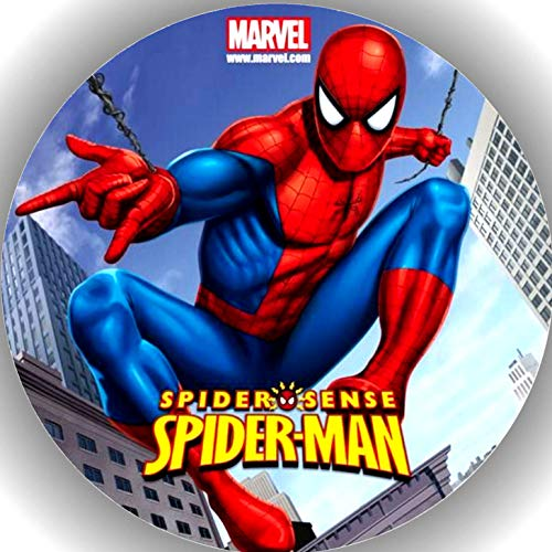 Premium Esspapier Tortenaufleger Tortenbild Geburtstag Spiderman T2