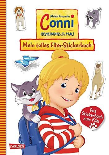 Conni Gelbe Reihe: Meine Freundin Conni - Geheimnis um Kater Mau. Mein tolles Film-Stickerbuch
