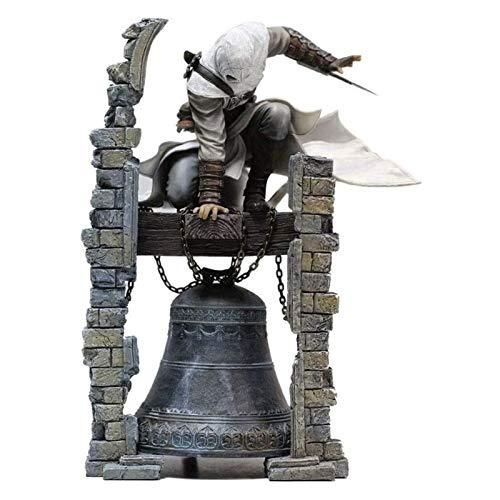 ZFF-DM Anime (Figura de acción) de la Figura Assassins Creed: Altaïr Torre de Reloj Figma 10.2 Pulgadas Animado Modell PVC - Anime Fans, la Primera opción for los Regalos 2020 Beige