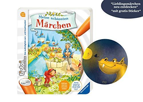 tiptoi Ravensburger Buch: Meine schönsten Märchen + exklusiver Drachensticker, ab 4 Jahren