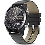 Smart Watch with Call,Health and Fitness Smartwatch with Heart Rate Blood Pressure SpO2 Monitor Sleep Tracker,App Message Reminder,Music Control,Waterproof Smart Watch (pidaihei)