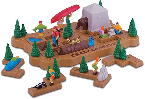 Popular Playthings Crazy Campers Puzzle