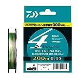 ダイワ(DAIWA) ライン UVF エメラルダス DURAセンサーX4 LD +Si2 200m 0.6号 (10lb)
