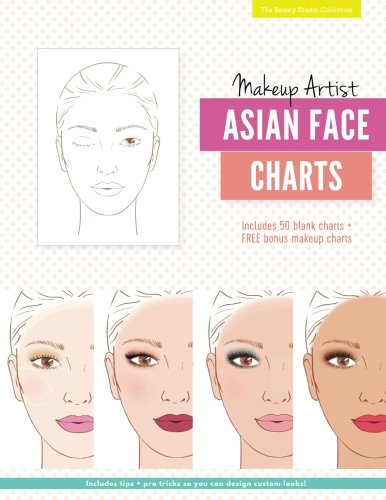 Makeup Artist Asian Face Charts (The Beauty Studio Collection, Band 5)