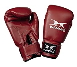 HAMMER Boxing Gloves Fun Fit, black, 12 OZ, 93812