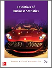 Loose Leaf Essentials of Business Statistics with Connect Access Card
