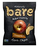 Bare Natural Apple Chips, Cinnamon, Gluten Free + Baked, Snack Size...