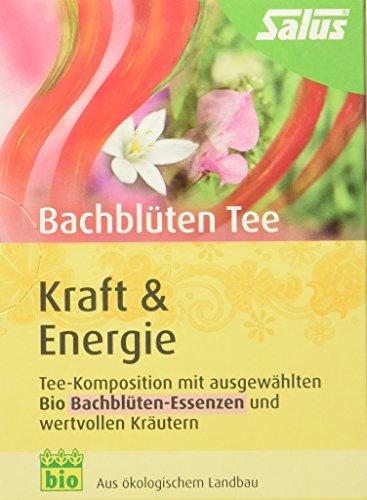Salus Bachblüten-Tee Kraft und Energie Bio 15 FB, 2er Pack (2 x 30 g)