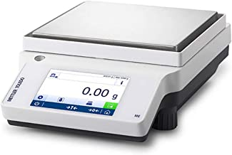 Mettler Toledo Excellence XS-L 11130672 Model XS16000L Precision Balance with L-Platform 16100g Capacity 1g Readability