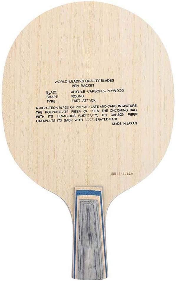 Alomejor 1Pc Weekly update Table Tennis Bat Omaha Mall Wo Accessories Professional Paddle