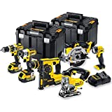 Dewalt DCK699M3T 18V 6 Piece Cordless Kit (3 x 4Ah Batteries) 2 x...
