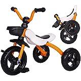 Bicicleta Sin Pedales, Bicicleta Bebe Plegable Y PortáTil NiñO De 3-5 AñOs, Andador Bebes Retirable Suave Y Confortable Soporte de Acero al Carbono