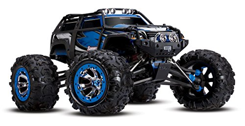 Traxxas Summit: 1:10 Maßstab 4WD Electric Extreme Terrain Monster Truck mit TQi 2.4GHz Radio, blau