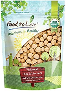 Organic Garbanzo Beans / Dried Chickpeas by by Food to Live (Non-GMO, Kosher, Raw,..