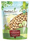 Organic Garbanzo Beans / Dried Chickpeas by by Food to Live (Non-GMO, Kosher, Raw, Bulk) — 3...