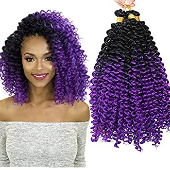 Best purple crochet hair Reviews