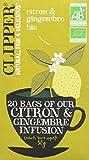 Clipper Infusion Bio Citron Gingembre 20 sachets -...