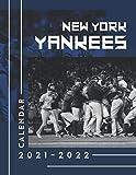 New York Yankees Calendar 2021-2022: Amazing Calendar for Fans - 2 Years Calendar