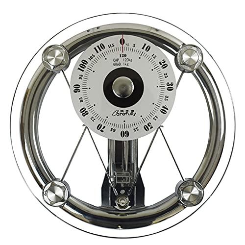 Bilancia Pesapersone Meccanica, Bilancia da Bagno Meccanica, Quadrante con Puntatore di Precisione,...