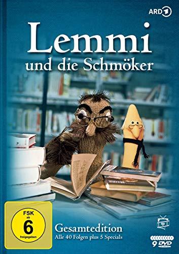 Lemmi und die Schmöker - Gesamtedition: Alle 40 Folgen plus 5 Specials (Fernsehjuwelen) [9 DVDs]
