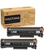 CMYBabee Reemplazo de Cartucho de Tóner Compatible para HP 44A CF244A para HP Laserjet Pro M15a M15w MFP M28a MFP M28w Impresora (2 Negro)