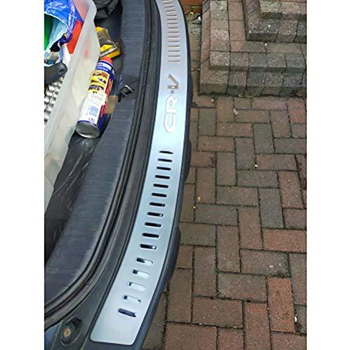 Accesorios de coche de protección antiarañazos de protección de umbral de maletero de acero inoxidable para honda CRV CR-v 2007-2011