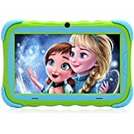 Kids Tablet - Android Tablet PC with 7 inch IPS Eye Protection Display 1GB+16GB WiFi Camera and...