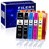 Filery 5-Pack Compatible Ink Cartridges Replacement for...