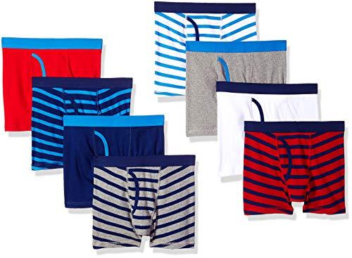 Amazon Essentials 8 Pack) boxer-briefs, Gestreift, X-Small