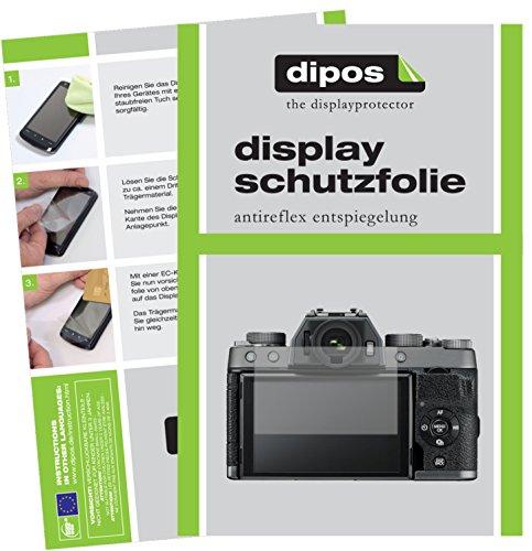 dipos I 6X Pellicola Protettiva antiriflesso Compatibile con Fujifilm X-T100 Pellicola di Protezione
