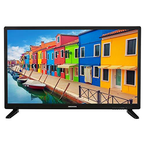 MEDION E12836 69,9 cm (27,5 Zoll) HD Fernseher (HD Triple Tuner, DVB-T2 HD, CI+, Mediaplayer, 3 x HDMI, SCART, VGA, USB)
