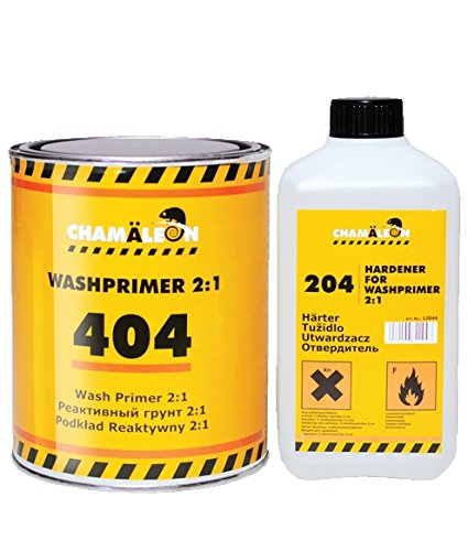 Chamäleon WASHPRIMER 2K REAKTIONSGRUNDIERUNG 2:1 Aluminium GRUNDIERUNG 1L + 0,5L