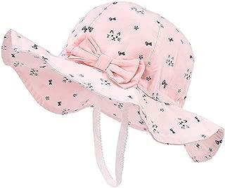 Spring/Summer Cotton Baby Girls 's Outdoor Bowknot Sun Hat/Beach Hat