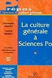 La culture générale à Sciences Po