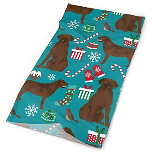 NA Chocolade Labrador Kerstmis Leuke Hond Beste Hond Leuke Honden Beste Honden Labrador RetrieverFacial Hoofdband Make Up Wrap Hoofd Terry Doek Hoofdband Stretch Handdoek make-up Haarband Sport